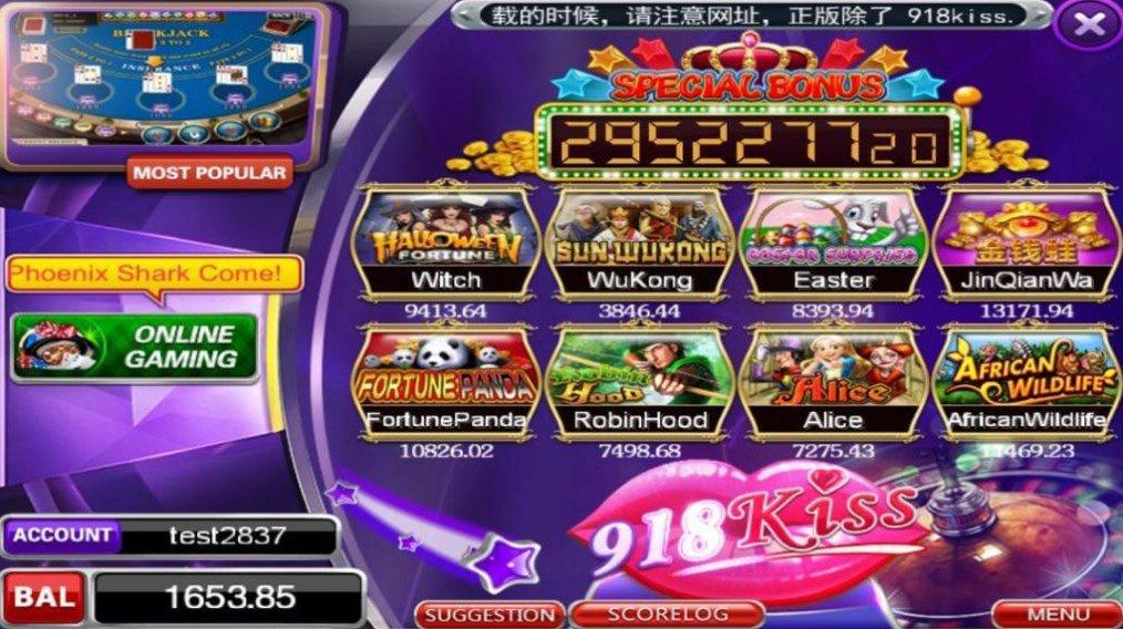 Игры 918kiss казино